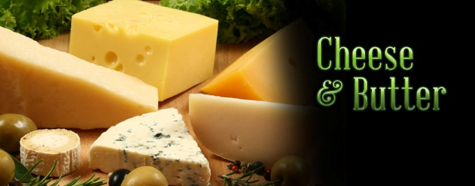 Weekly Cheese and Butter Products