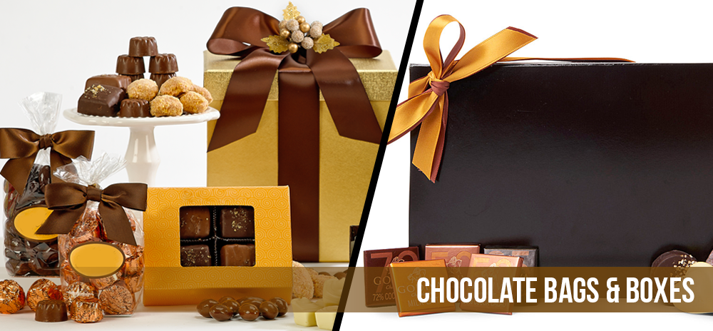 Chocolate Bags and Boxes