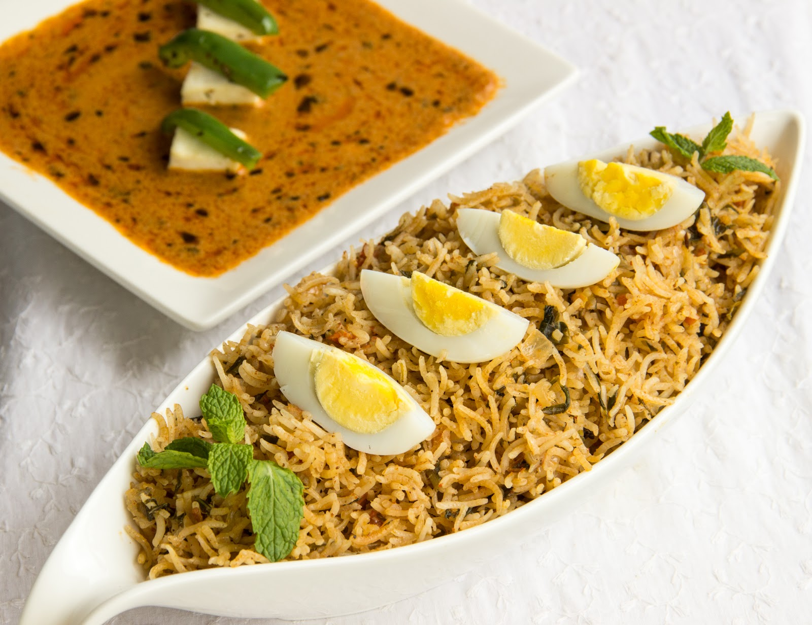 Hyderabadi Egg Biryani