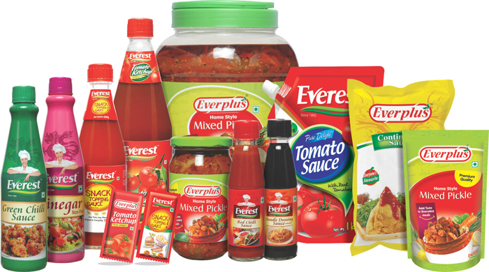 Condiments and Sauces Products
