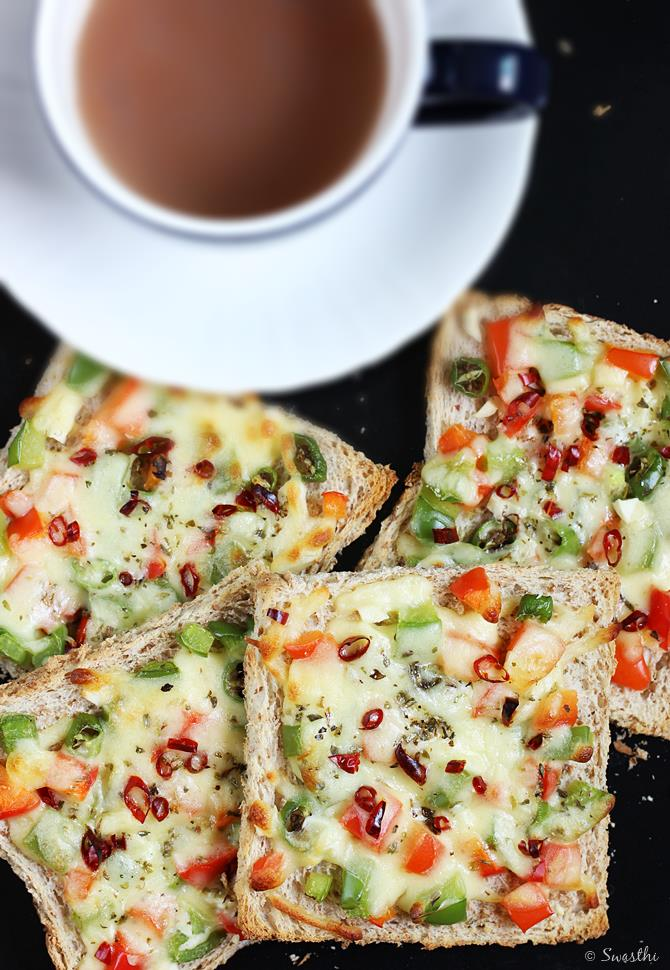 Capsicum Cheese Toast