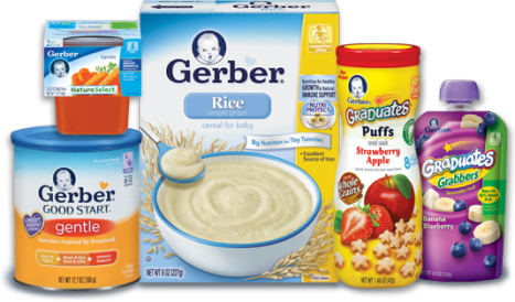 Weekly Baby Food Products