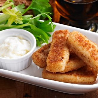 Curried Fish Fingers