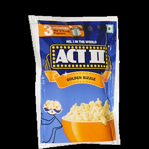 Act II instant popcorn golden sizzle