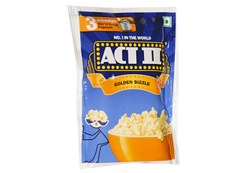 Act II Golden Sizzle Popcorn
