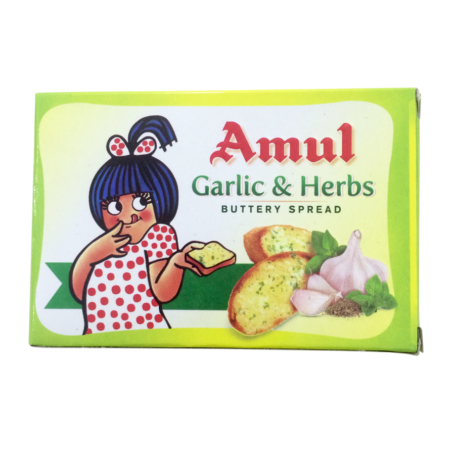 Buy Amul Buttery Spread Garlic and Herbs 100gms Online