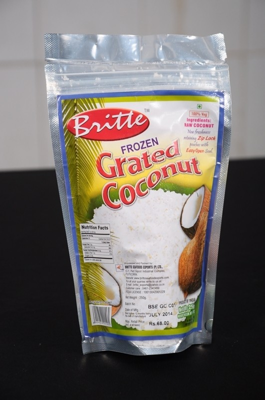 Britte Grated Coconut Frozen