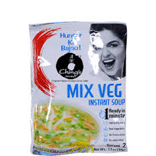 Chings Mix instant Vegetable Soup