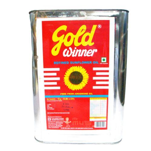 Gold Winner Refined Oil Sunflower Horeca