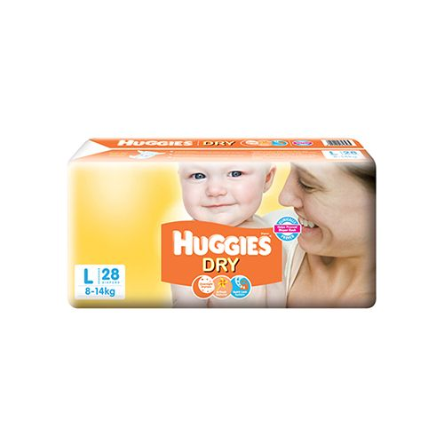 Huggies New Dry Diapers Large