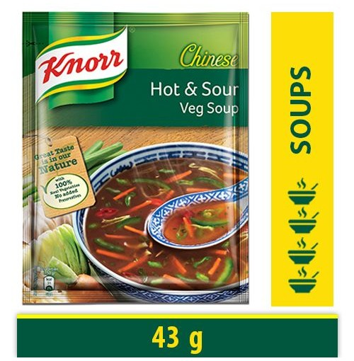 Knorr Chinese Hot and Sour Veg Soup
