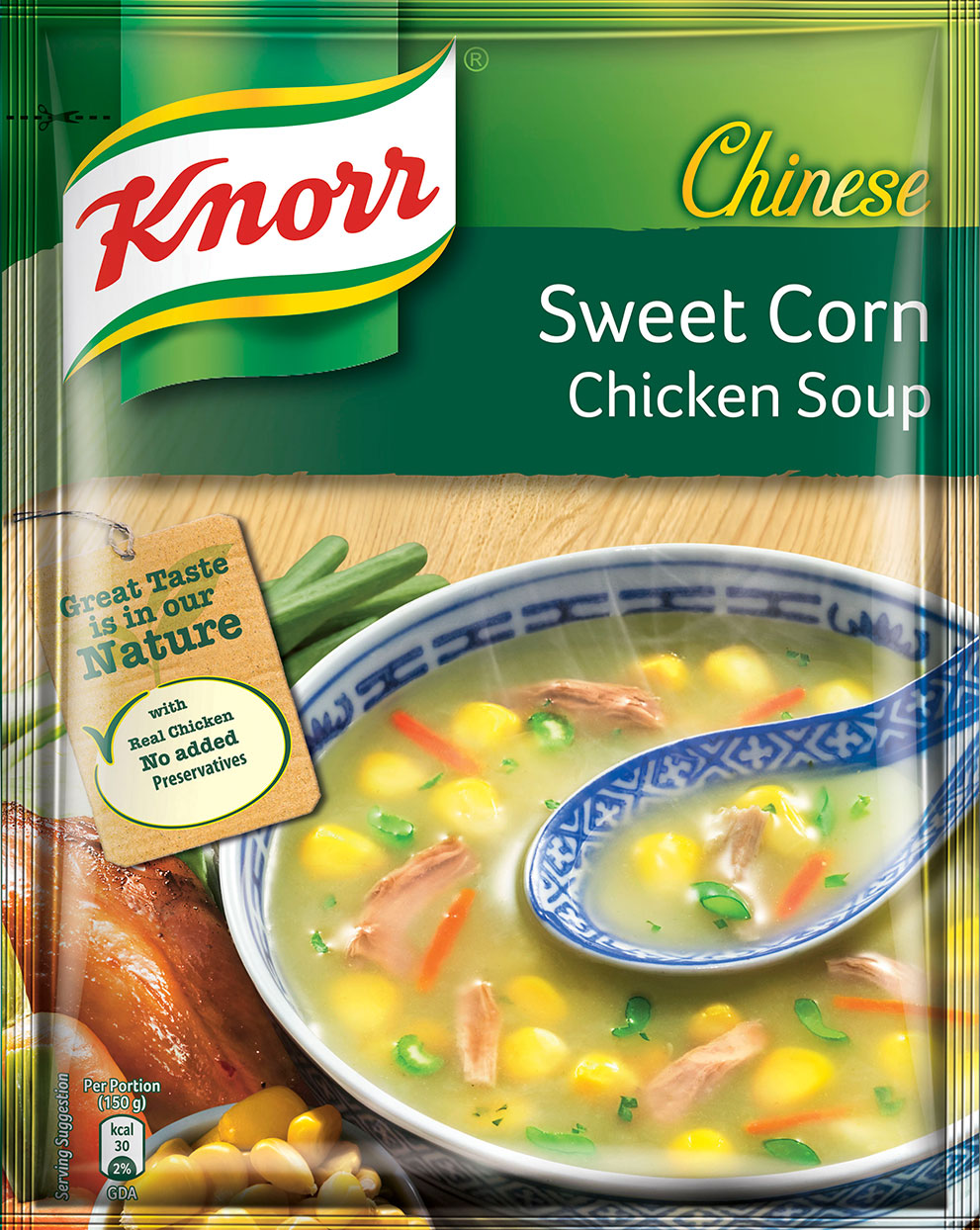 Knorr Soup Powder Chinese Sweet Corn Chicken