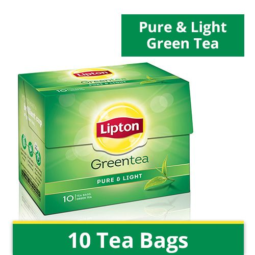 Lipton Green Tea Bags Pure and Light