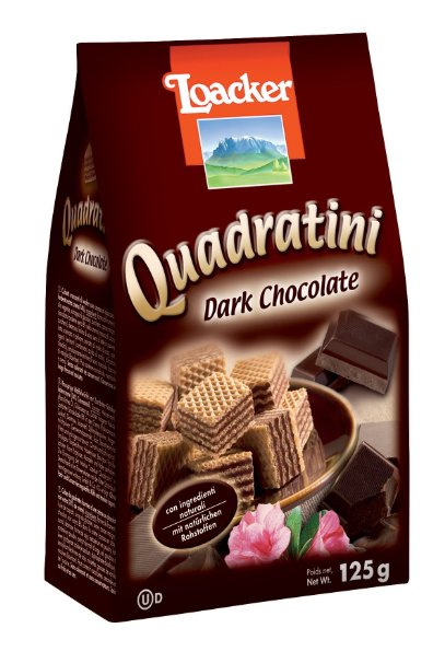 Loacker Quadratini Dark Chocolate