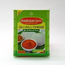 Mambalam Iyers Powder Idli Chilli