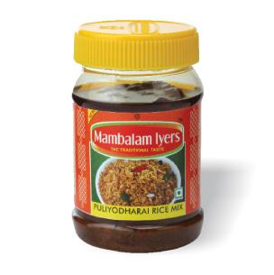 Mambalam Iyers Mix Puliyodharai Rice