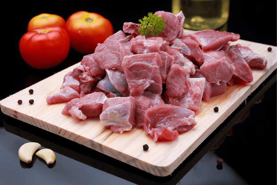 Mutton Shoulder Cut Pieces
