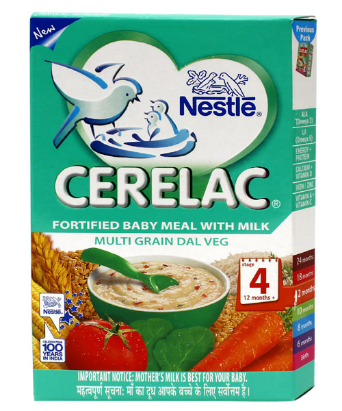 Buy nestle cerelac fortified baby meal with milk multi for Stage cuisine vegan
