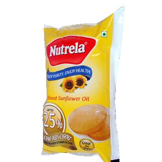 Nutrela Refined Sunflower Oil