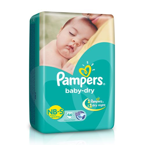 Pampers Baby Dry Diapers Small