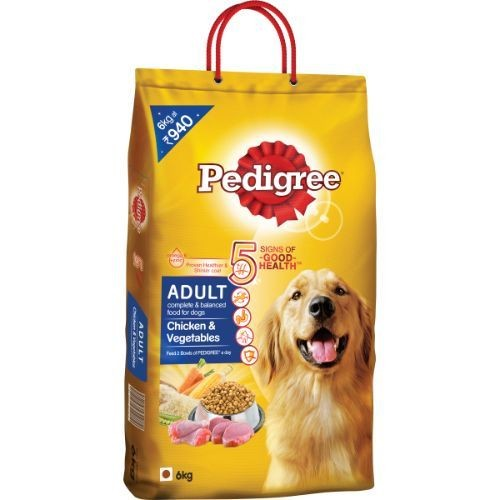 Pedigree Daily Food For Adult Chicken and Veg