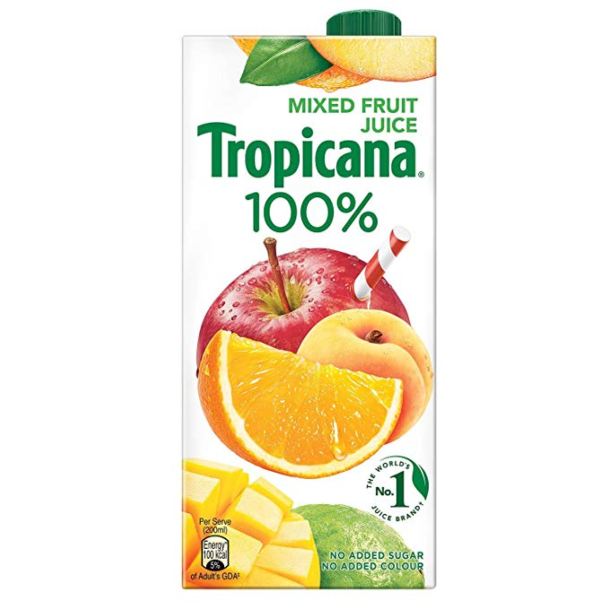 Tropicana 100 Percentage Juice Mixed Fruit