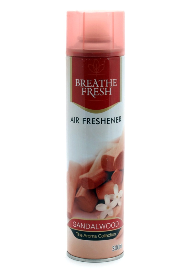 Breathe Fresh Sandalwood Air Freshne