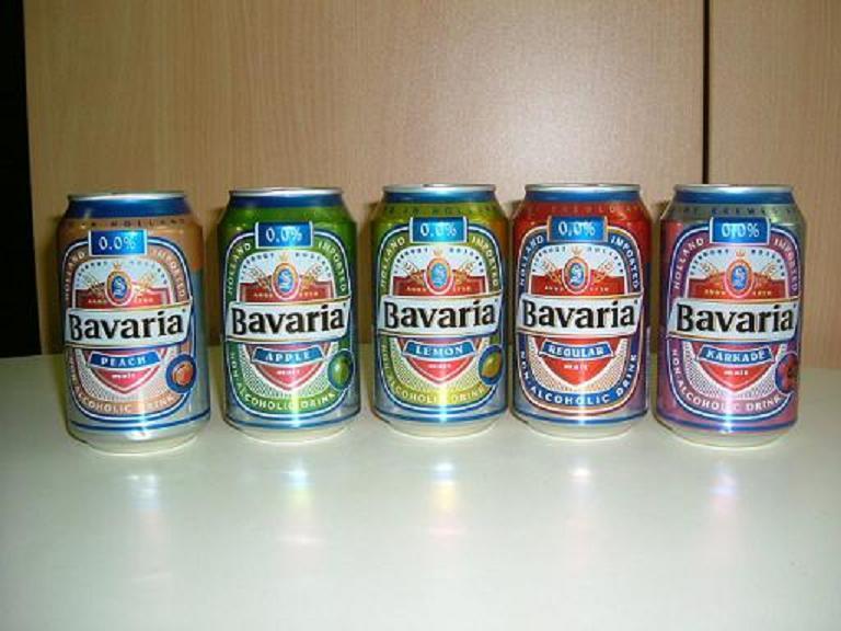 bavaria lemon malt non alcholic drink