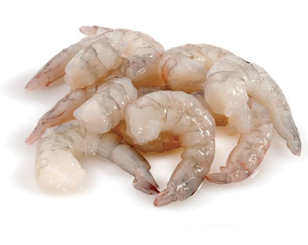 Prawns Medium cleaned and deveined Whole Cleaned Net Weight 1KG