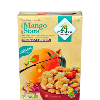 24 Letter Mantra Organic Mango Stars With Mango and Amaranth