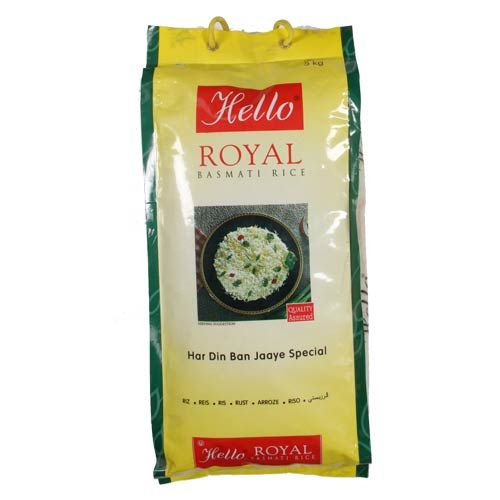 Hello Royal Basmati Rice