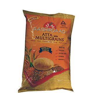 Aashirvaad Aata with Multigrains