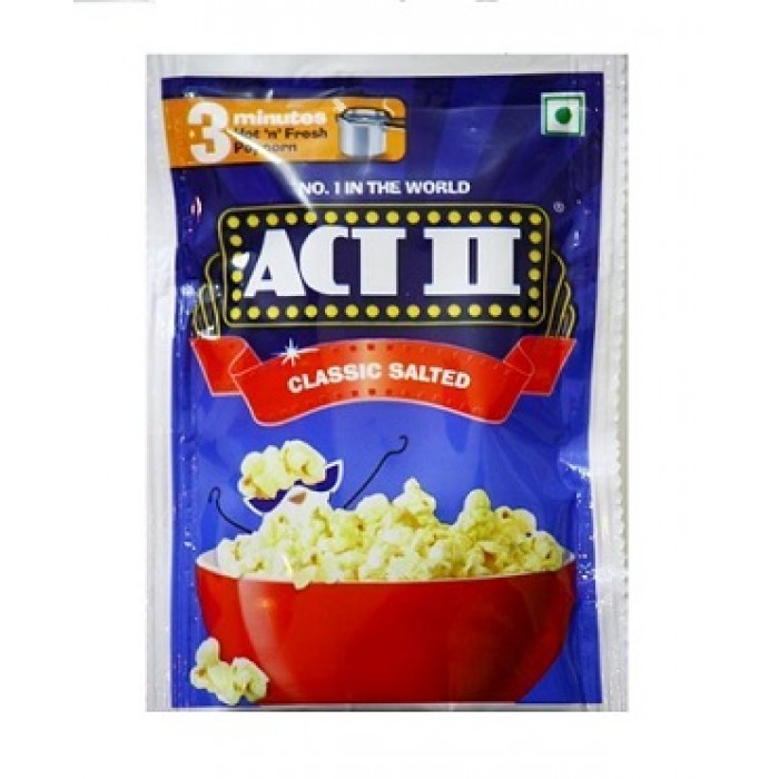 Act II Instant Popcorn Classic Salted
