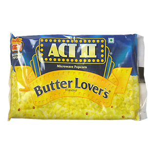 Act II Microwave Popcorn Butter Lovers Flavor