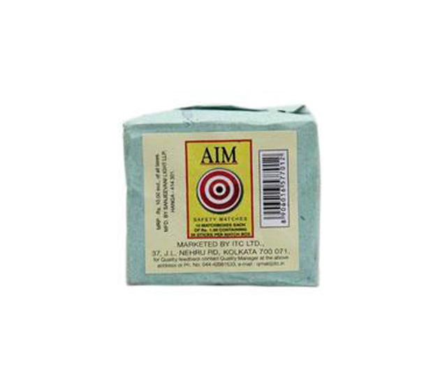 Aim Matches Box