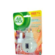 Air Wick Electrical Room Freshener Mystic Sandal and Jasmine With Device plus Refill