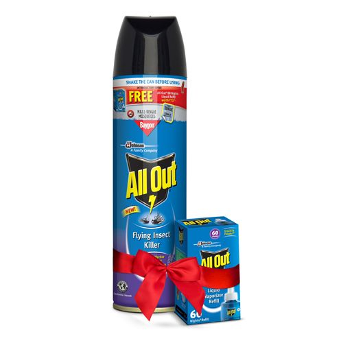 All Out Flying Insect Killer Lavender Scent