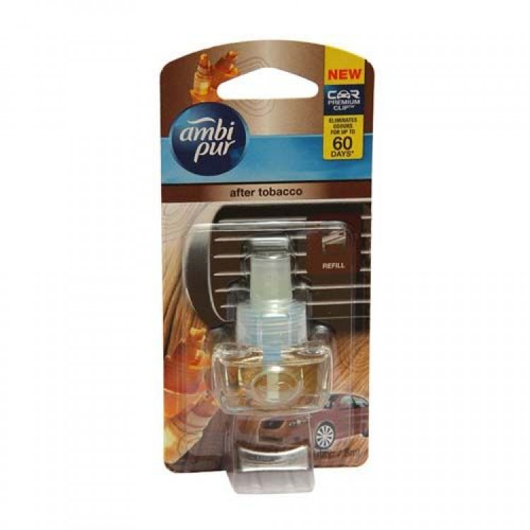 Ambi pur Car Air Freshener After Tobacco Refill