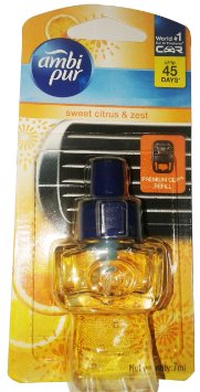Ambi pur Car Air Freshner Refill Sweet Citrus and Zest