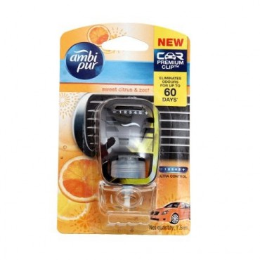 Ambi pur Car Air Freshner Sweet Citrus and Zest