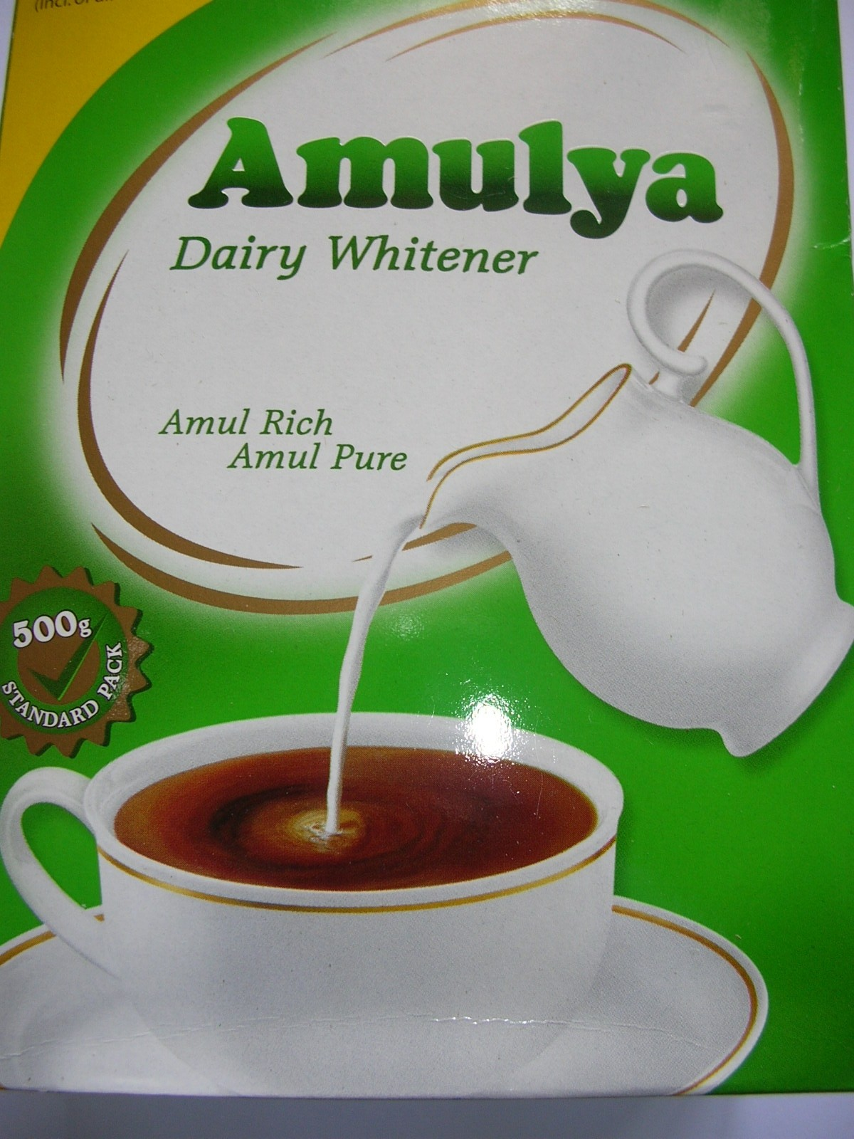 Amulya Dairy Whitener 500gm Carton