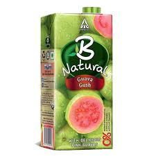 B Natural Juice  Guava Gush