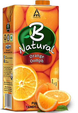 B Natural Juice  Orange Oomph