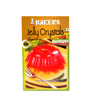 Bakers Jelly Crystals Raspberry Vegetarian