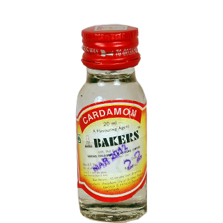 Bakers cardamom flavour