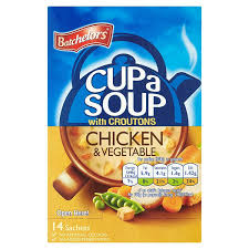 Batchelors Cup a Soup with Croutons Chicken and Vegetable