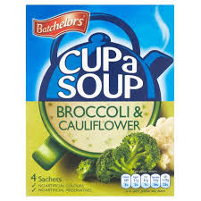 Betchelors Cup a Soup Broccoli and Cauliflower