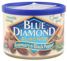 Blue Diamond Almonds Rosemary and Black Pepper