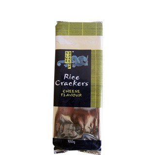 Blue Dragon Rice Crackers Cheese Flavour