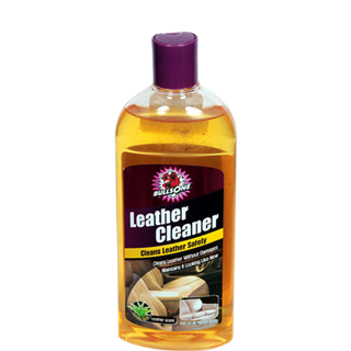 Bulls One Leather Cleaner Clean Lather Safely